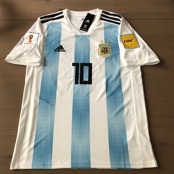 1f4ee212f Argentina Home Messi  10 Soccer Jersey men adidas